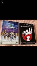 DVDs originais Os Caça Fantasmas