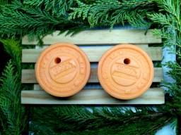 Sabonete artesanal de laranja