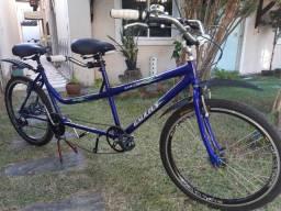 Bicicleta de 2 lugares. Bike dupla (Tandem)