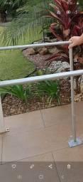 Barras paralelas para reabilitação - para pessoas altas