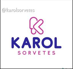 Karol Sorvetes: vendas no atacado e varejo.