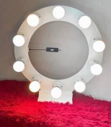 Ring light 10 bocais +10 lâmpadas