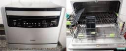Maquina de lavar louça consul 6 serviços usada 1 vez só