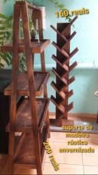 Móveis rústicos e retrô de madeira fabricação.