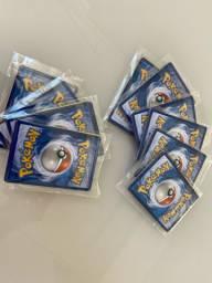 Lote 10 Cartas Pokémon Sortidas Originais COPAG