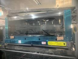 Forno gás INDL infra Roma inox 110 (Alef)