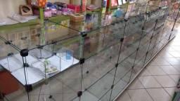 Balcão de vidro!!