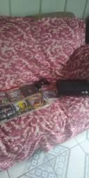 PS3 7 jogos um controle vendo ou troco pego o celular som de casa