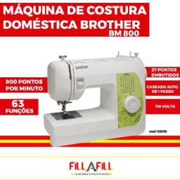 Maquina de costura domestica brother bm800