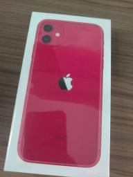 iPhone 11 lacrado 64gb vermelho Anatel nacional
