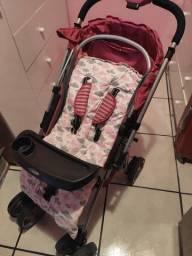 Ninho e carrinho de bebê