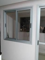 Porta e janela de aluminio