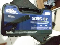 Microfone Sas57 Santo Ângelo + Cabo XLR Balanceado