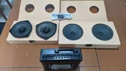 Título do anúncio: Rádio toca fitas original GM Vectra cd 97/98 + Auto falantes originais