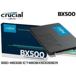 Título do anúncio: Ssd 480GB CRUCIAL com 3DNand, sata3, para PC e Notebook, Novo, lacrado
