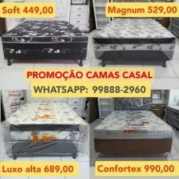 Título do anúncio: CAMA CASAL a PREÇO DE FÁBRICA 449,00! ENTREGA IMEDIATA!