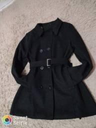 Vendo casaco de lã batida tamanho GG $100