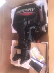 Motor Popa Mercury 50hp 2T partida eletrica
