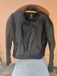 Jaqueta e bota