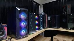 Gabinete Gamer Hayom RGB - Diversos Modelos em Vidro ou Acrílico a partir de