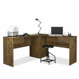 Mesa Home Office em L