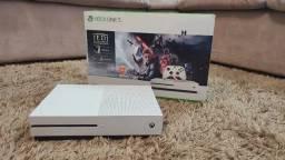 Console Microsoft Xbox One S 1TB 4K - Com ou sem Kinect