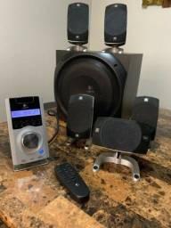 Home teather Logitech z5500 5.1 500 watts RMS