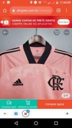 Camisa Flamengo Edição Limitada 50,00 reais (Vendo ou troco por algo de meu interesse)