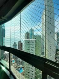 Apartamento Mobiliado, Decorado e Equipado com 03 Suítes na Quadra Mar de Balneário Cambor