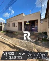 Vendo Casa - 3 Quartos. Regiao comercial de Luziania/GO