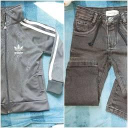 Kit roupas menino 13peças tamanho 2 anos