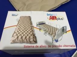 Colchão ortopédico inflável com unidade de controle (compressor/motor) !! 10 dias de uso!!