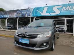 Citroën C4 Lounge Exclusive 1.6 THP 2015 Único dono