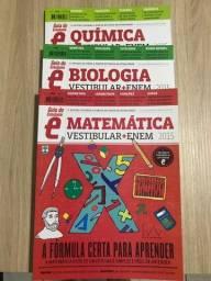 Vendo guias do estudante biologia, química e matemática