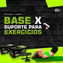 Suporte Para Exercícios Abdominal Pernas Base Apoio Lombar