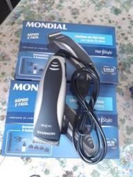 Máquina De Cortar Cabelo Mondial Hair Stylo Acompanha Pentes + acessórios