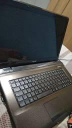 Título do anúncio: vendo Notbook ASUS i5 Com Memoria RAM De 6GB