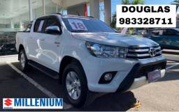 Hilux 2.7 SRV CD 2018 AT C/GNV - Oportunidade