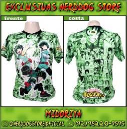 Título do anúncio: Camisa Midoriya Izuku (Deku) - Boku no Hero (My Hero Academia) - NerdDog Store