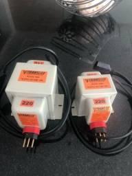 Título do anúncio: 2 Transformadores 110 x 220 v 2000w e 500w