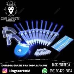 Clareador 3D de dentes caseiro  Whitenning