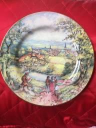 Prato antigo porcelana