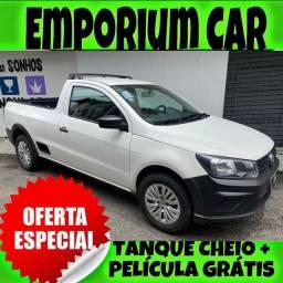 Título do anúncio: OFERTA RELÂMPAGO!!! VW SAVEIRO 1.6 ROBUST CS ANO 2019 COM MIL DE ENTRADA