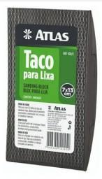 Taco lixador Atlas 7x13cm