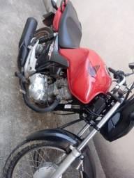 Moto Fan 160 Start Semi Nova