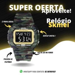 Título do anúncio: Relógio Smael Original Camuflado (Importado)