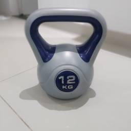 Título do anúncio: Kettleball emborrachado de 12 kg