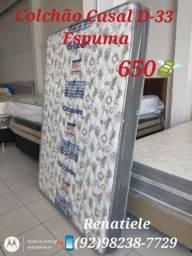Título do anúncio: Colchão Casal D33 // ENTREGA IMEDIATA