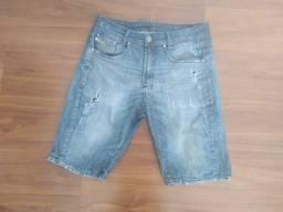 Bermuda Jeans First Wfive - entrego, passo cartão, pix