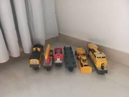 Título do anúncio: Trem de brinquedo Caterpillar Contruction Express